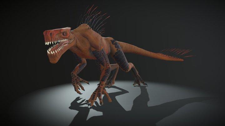Lizard Monster 3D Model