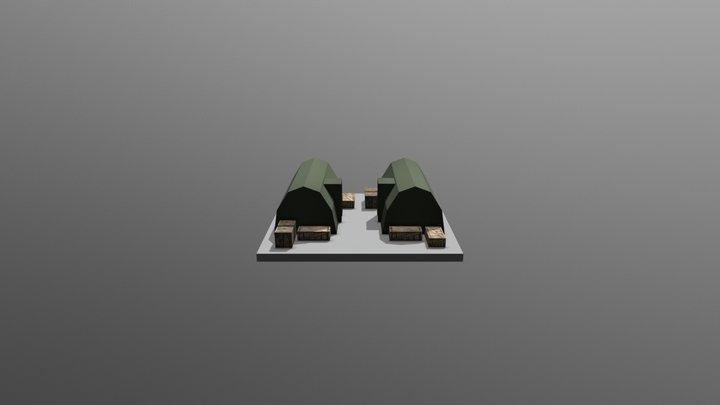 Barrackslvl2v2 3D Model