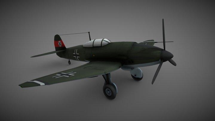 Heinkel He-112 3D Model