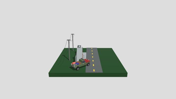 Дейлики XYZ _ Post-Apocalypse All 3D Model