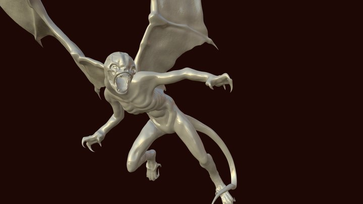 The Harpy 3D Model