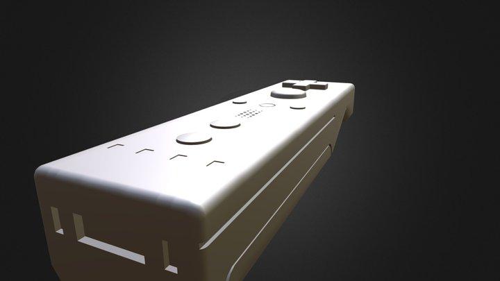 Wiimote 3D Model