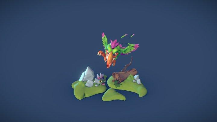 Birdy Thijs De Rijcke 3D Model