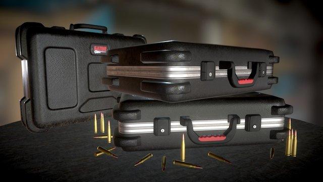 Pbr Gator case 3D Model