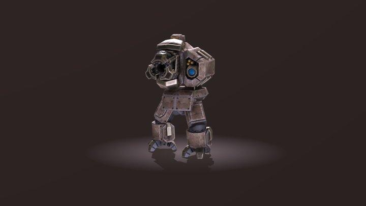 Robo Cannon 3D Model