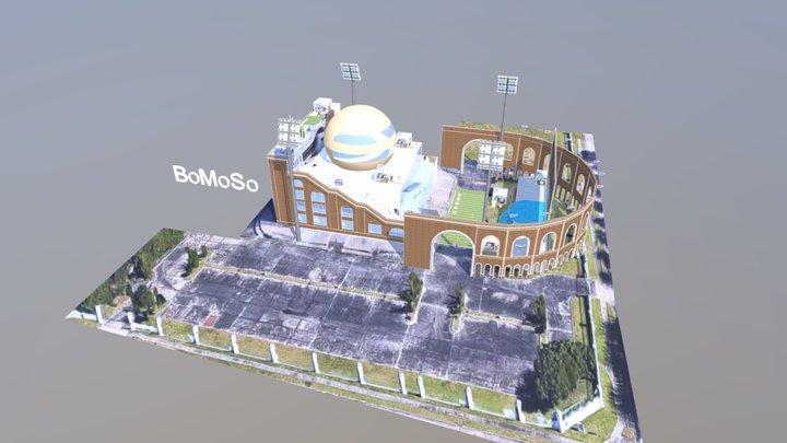 Stadium Ball 3D Model