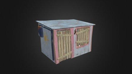 Pink Shack 3D Model