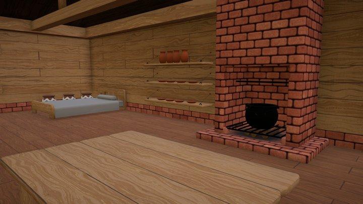Link's House (ALttP) 3D Model