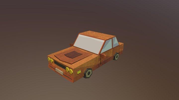 Carro Mustang 3D Model