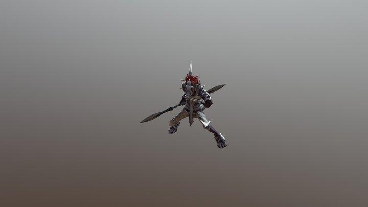 Kyuku Zuzu (Overlord) 3D Model