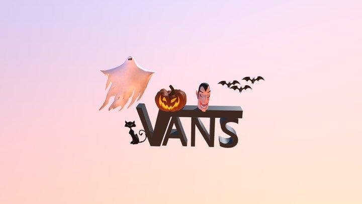 HALLOWEEN VANS 3D Model
