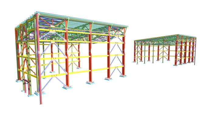 Крытый аквапарк КМД 3D Model