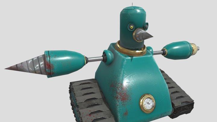Grounder (Sonic the Hedgehog) 3D Model