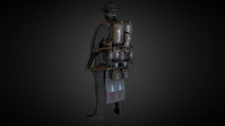 WW1 Jetpack - Trench leapers draco-sq102 3D Model