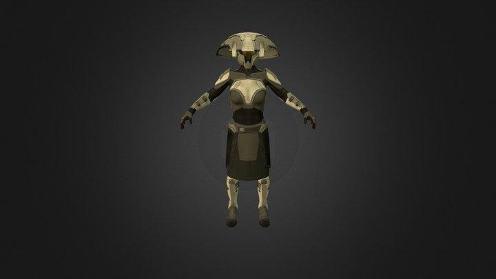 Bounty Hunter 3D Model