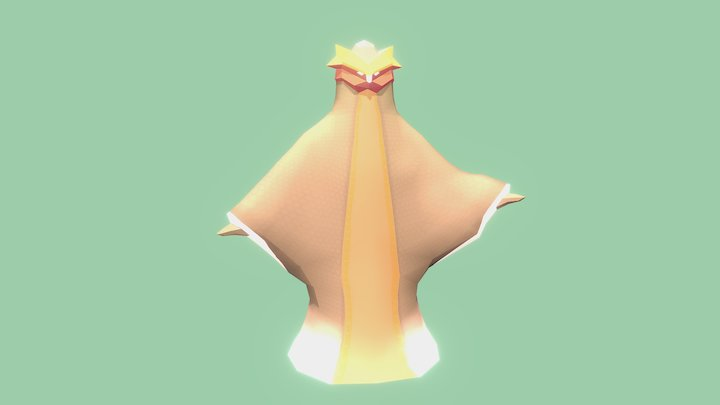 Cardinal Indra 3D Model