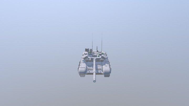T90-Tank 3D Model