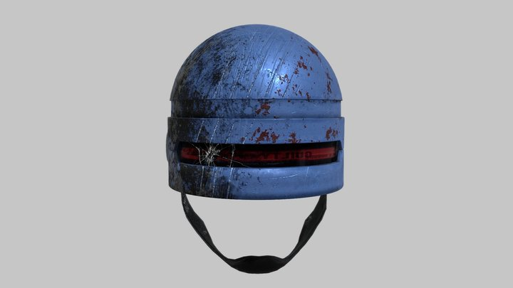 ROBOCOP Helmet 3D Model
