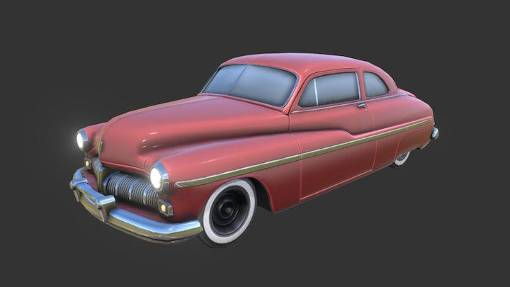 1940's Coupe 3D Model