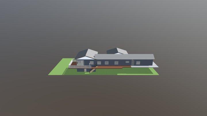 Master Bed Deck Test 3D Model
