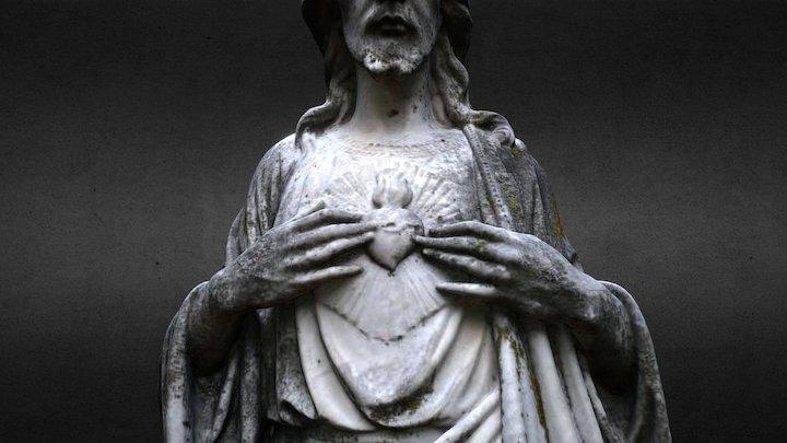 Cemetery Statuary - Hey, Zeus! no. 3 3D Model