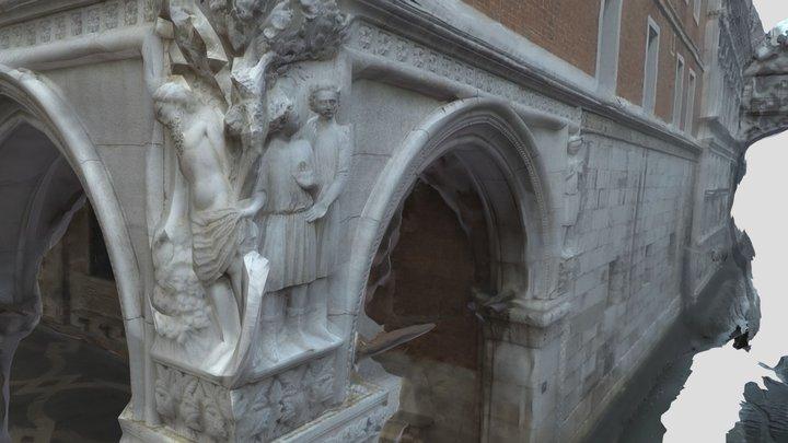 Drunkenness of Noah (Bridge of Sighs - Venice) 3D Model