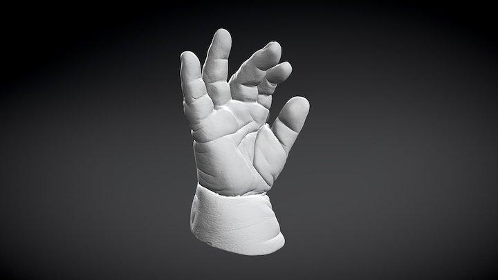 Baby casting 3d scanning 3D Model