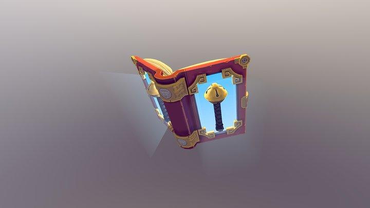 Magical Book 3D Model