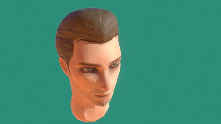 "Head ""Bust"" 3D Model"