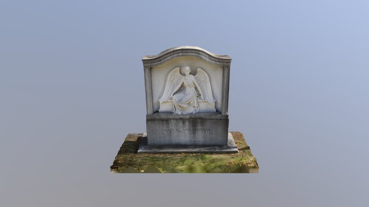 Oakland Cemetery - Mary Glover Thurman 3D Model