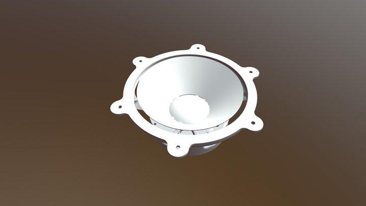 3D printable speaker 3D Model