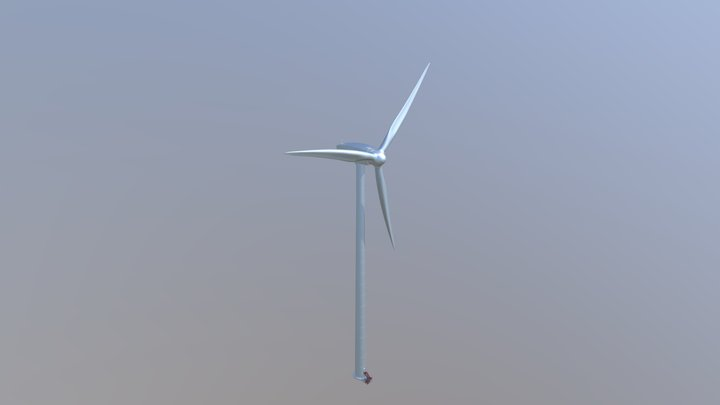 Windmill For TDX 3D Model