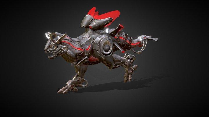 Carnotaurus 3D Model