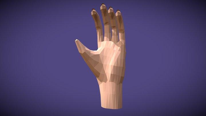 Sculpt Hand 3D Model