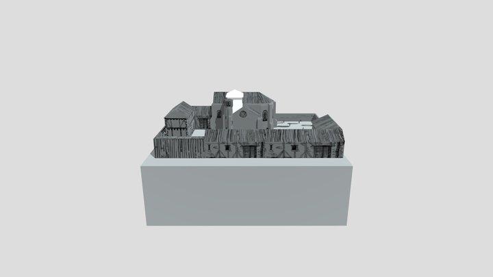 Boceto hospital 3D Model