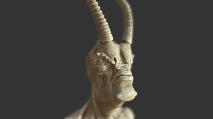 Korrigum02 3D Model
