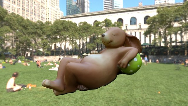 Osterhase_01 // Easter bunny 3D Model