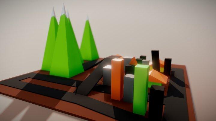 Cidadezinha 3D Model