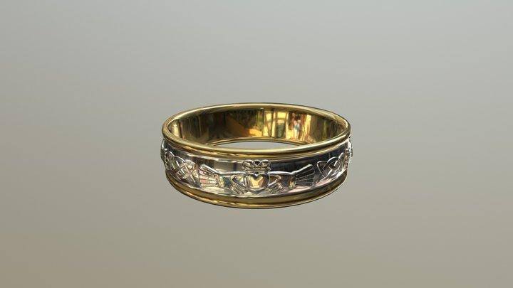 Main Gold 3D Model