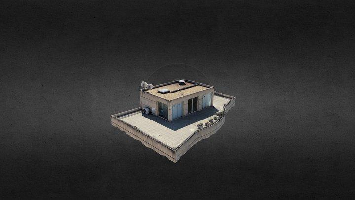 Modélisation de toit terrasse 3D Model