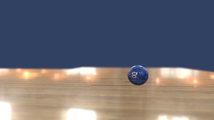 Bowling Ball Bounce 3D Model