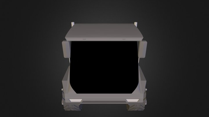 Unimog rendering.3ds 3D Model