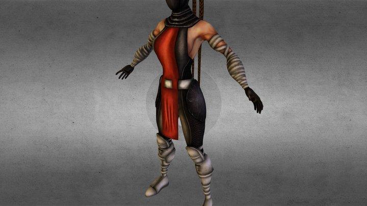 character_salem_2.obj 3D Model