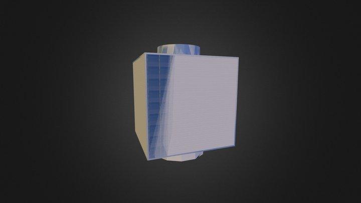 Edificio Cubo Zaragoza.kmz 3D Model