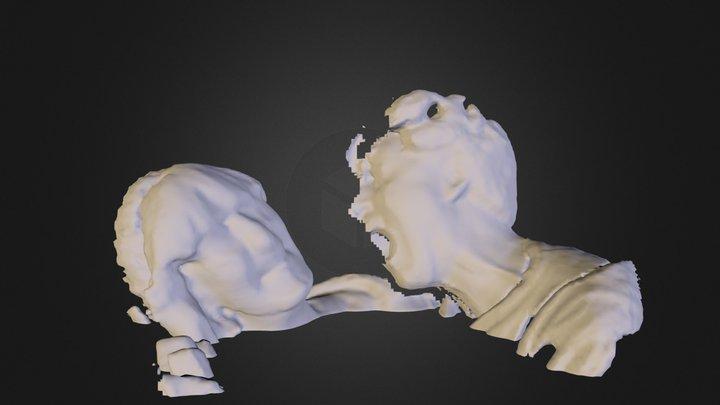 zombie atackkk1.dae 3D Model