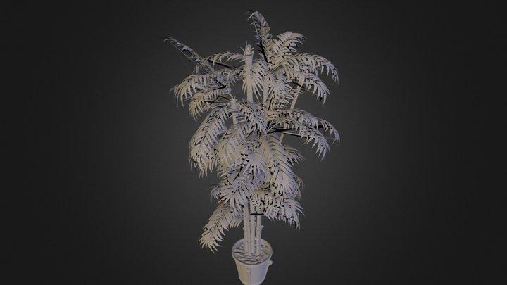 Plant N100812.3DS 3D Model
