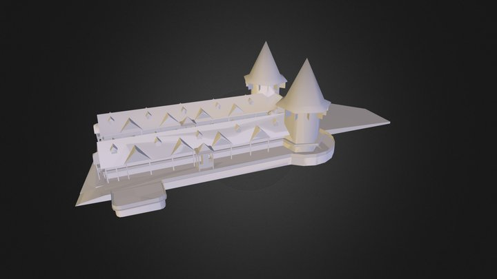 hotel.dae 3D Model