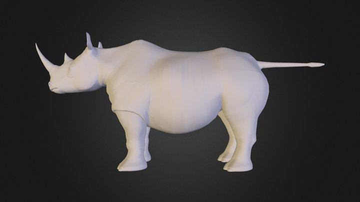 Rhino_1.OBJ 3D Model