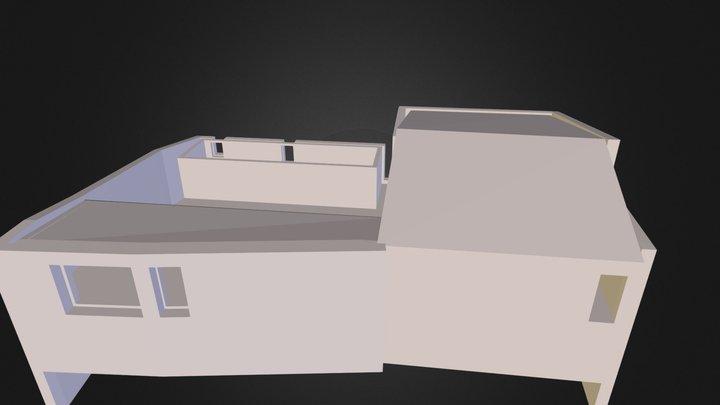Maderuelo manzana patio 3D Model