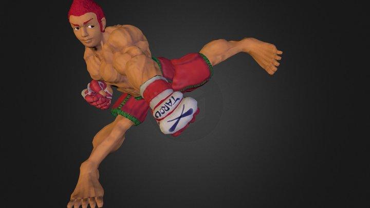 Tarou.obj 3D Model